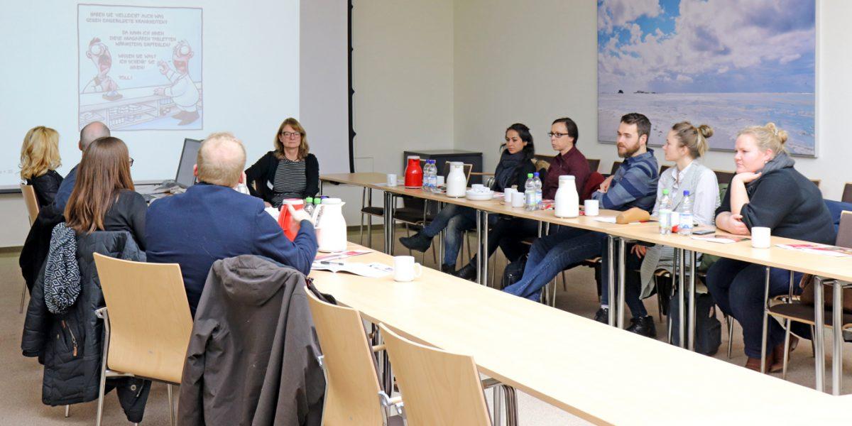 Sieben Referendare besuchten das APZ Königslutter.