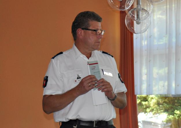 Verkehrssicherheitsberater Ulf Barnstorf.