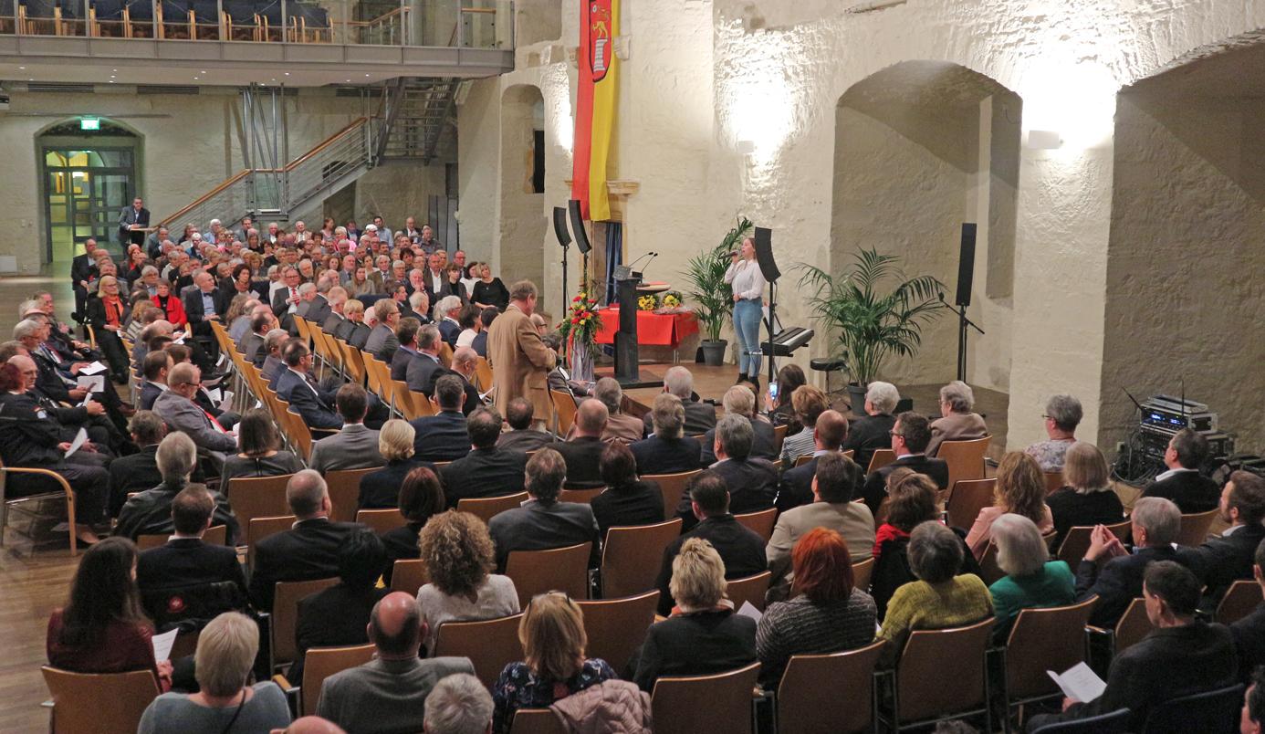 Voll war es im Palas beim Jahresempfang in Schöningen.