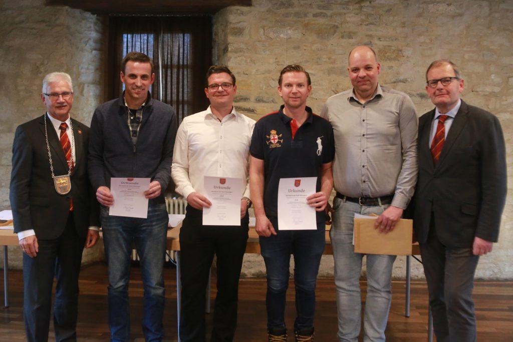 AK Herren 30: Stefan Kienhorn, Maciej Weglowski, Patrick Bauer, Gordon Grund, Mark Gehre, Alexander Thiel (SV Esbeck)