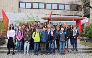 26 Schüler absolvierten ihren Zukunsttag im AWO Psychiatriezentrum Königslutter. Foto: privat