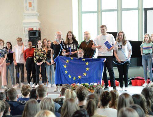 Schüler begeistern für Europa