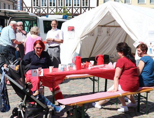In Schöningen wird der Weltrotkreuztag gefeiert