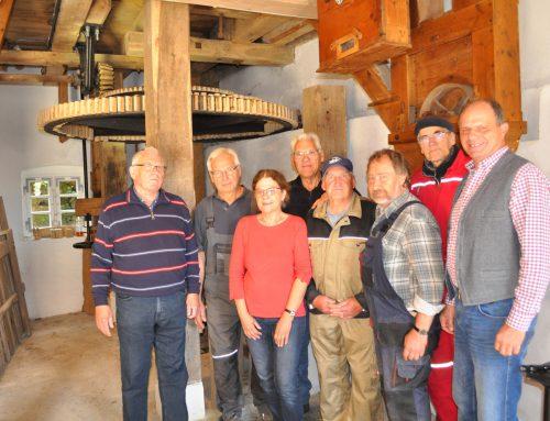 In Räbke klappert an Pfingstmontag die Mühle