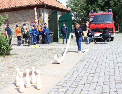 Kreisjugendzeltlager der Feuerwehr – so war das Eröffnungswochenende