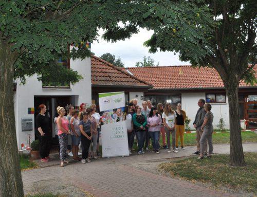"""""""Haus der kleinen Forscher"""" steht in der Astrid-Lindgren Kita"""