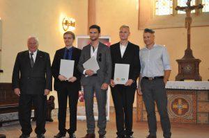 Drei neue Gesellen hat die Kfz-Innung mit Martin Lutz und Julian Sander (beide Thiede, Schöningen) sowie Johann Weisgerber (Stark, Königslutter) hinzu gewonnen.