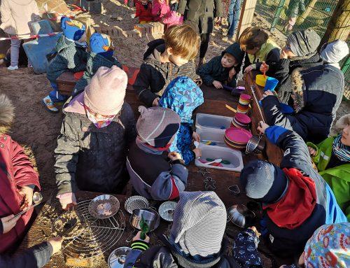 Eine Matschküche für die St. Vincenz-Kinder