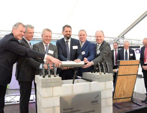 Grundstein für die erste Klärschlamm-Monoverbrennungsanlage Niedersachsens ist gelegt