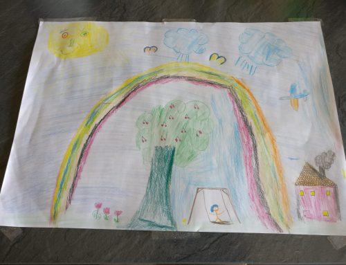 Mitmachen und gewinnen: Regenbogen-Malwettbewerb für kreative Kinder