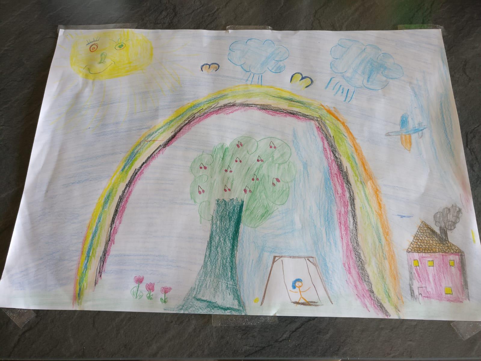 Ein Regenbogen von Ethan (5 Jahre) aus Esbeck.