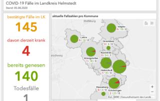 Screenshot Landkreis Helmstedt