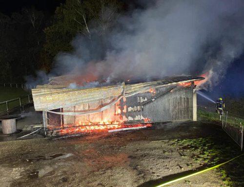 Sportheim brannte völlig nieder