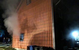 Ausgangspunkt für das Feuer war die Küche im Erdgeschoss des Gebäudekomplexes; Brandursache ist noch unklar. Foto: Oliver Thews