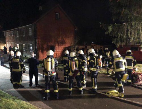 Wohnungsbrand in Wobeck – Flammen schlugen aus dem Küchenfenster