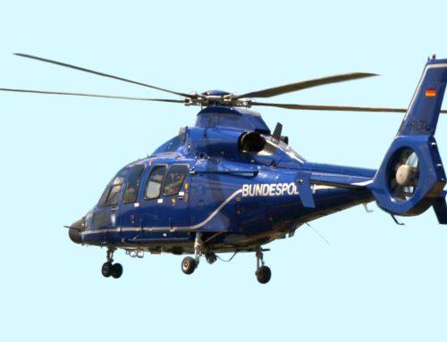 Hubschraubereinsatz in Königslutter