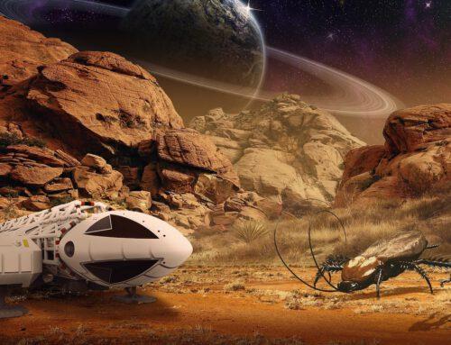 Das Monatsthema im Mai widmet sich der Suche nach Leben im Universum