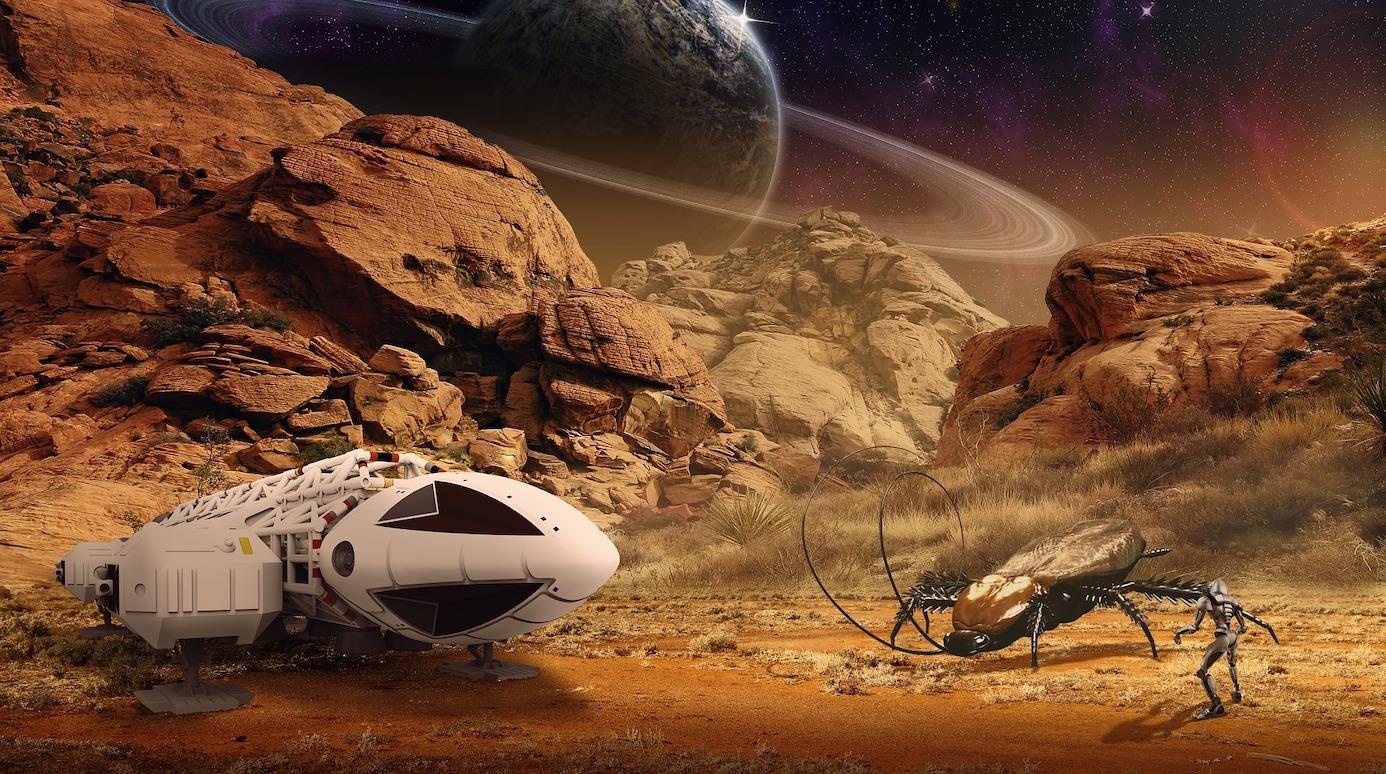 Raumschiffe mit Warp-Antrieb, feindselige Aliens und Erstkontakte - sind das alles nur Fantastereien oder könnte all das tatsächlich eines Tages Realität sein? Foto: Peter Fischer/pixabay.com
