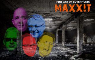 """Die Band ,,MAXXIT"""" tritt am Wochenende im Waldbad Birkerteich auf. Foto: privat"""