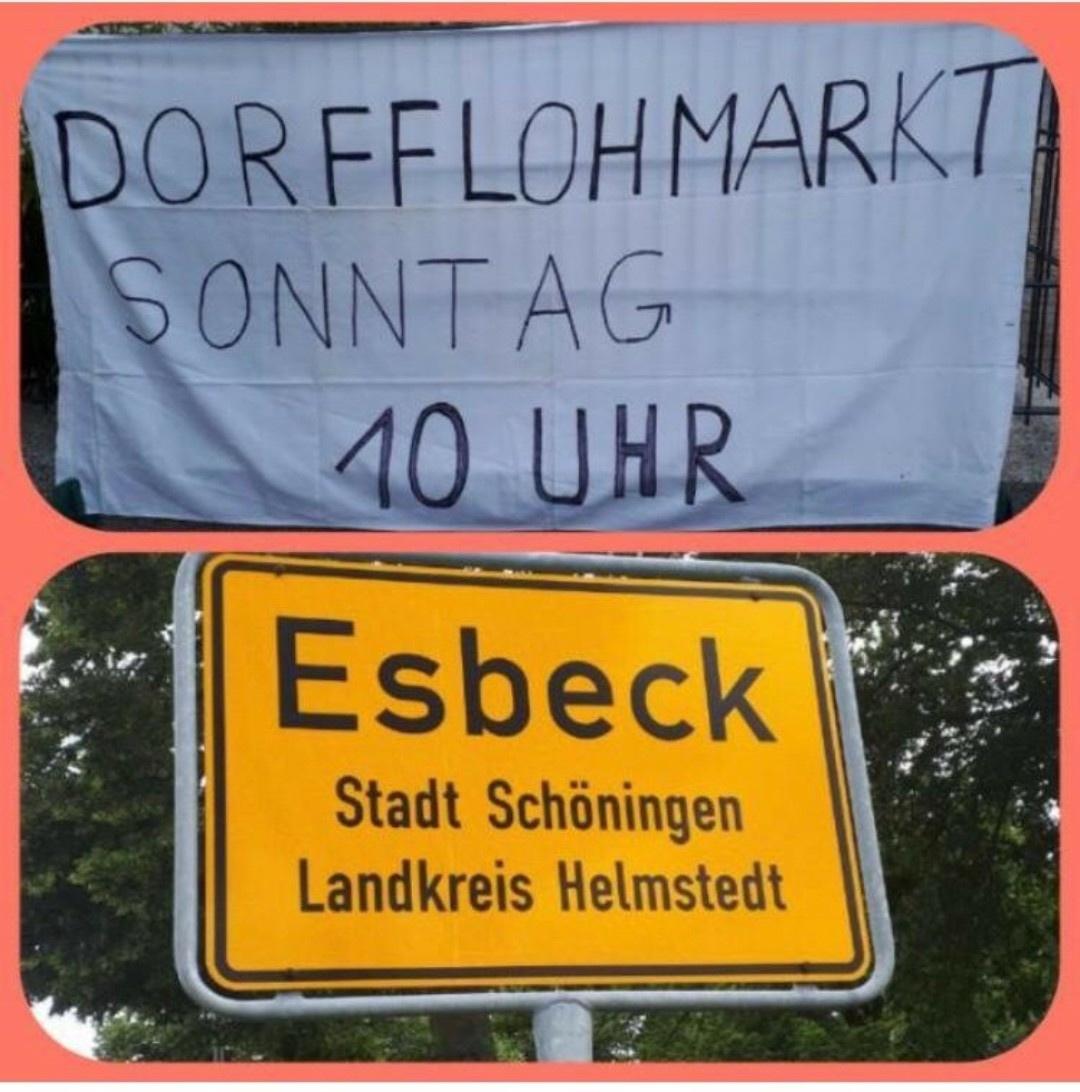 Am Sonntag, 29. August, startet der 2. Esbecker Dorfflohmarkt