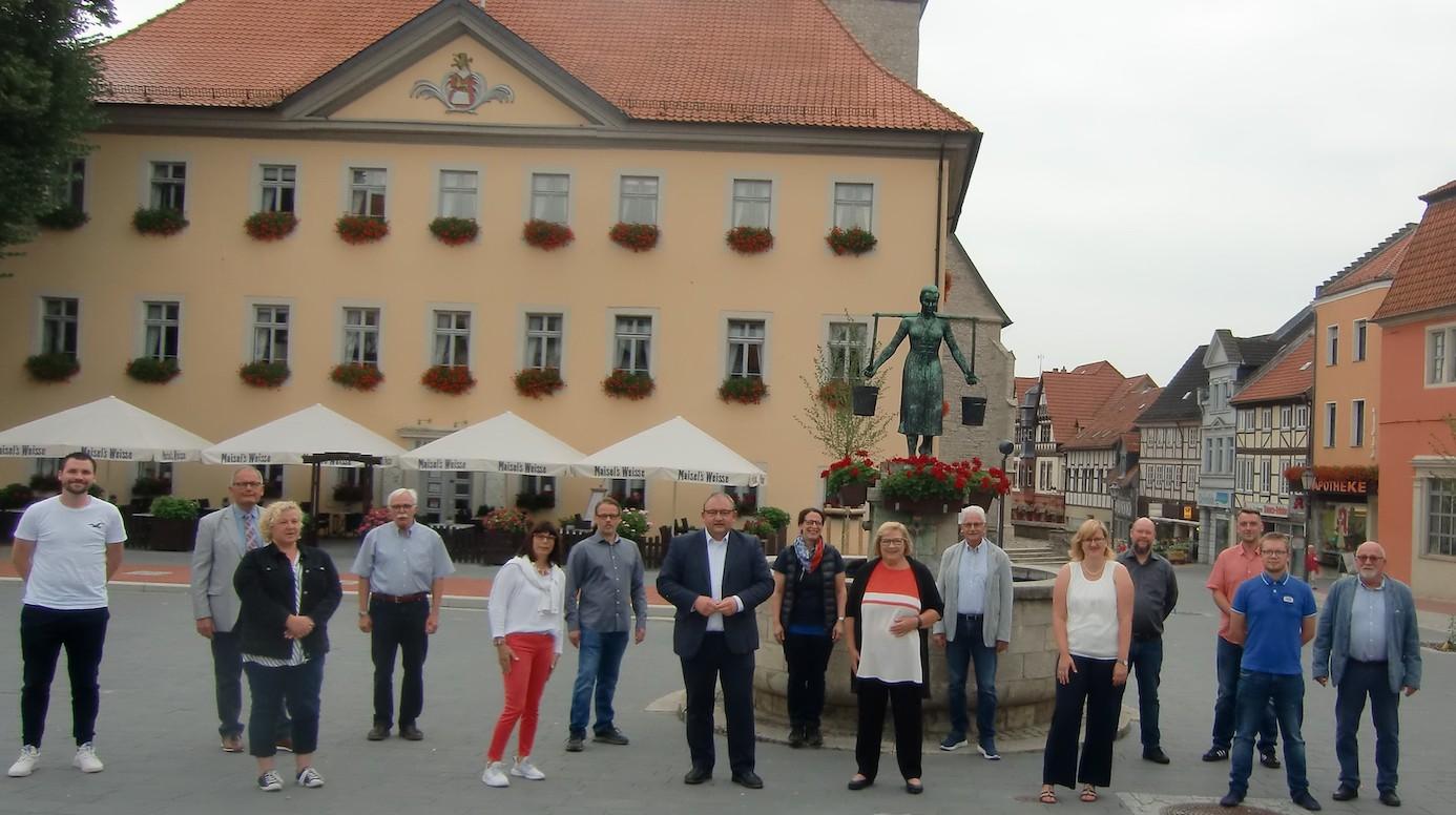 Die Kandidaten der Schöninger SPD können beim politischen Frühschoppen kennengelernt werden. Foto: privat