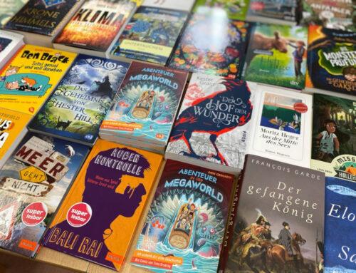 Neue Bücher-Tauschbörse im HeSo